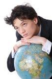 Beslis de wereld Stock Fotografie