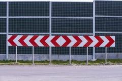 Besluitverkeersteken Stock Foto's