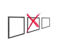beslut vektor illustrationer