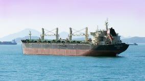 BESLUTSAMT torr-last för NAESS skepp Royaltyfri Fotografi