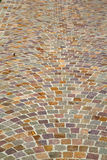 Besnate street   italy  varese abstract   pavement and marble Stock Images