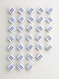 Besnoeiing zes dwarspatroon Royalty-vrije Stock Afbeelding