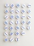 Besnoeiings blauw dwarspatroon Royalty-vrije Stock Afbeelding