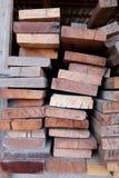 Besnoeiings houten, houten snijder Stock Afbeeldingen