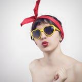 Beso Fotografía de archivo libre de regalías