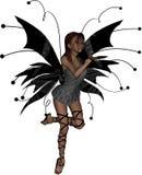 Beso de hadas gótico stock de ilustración
