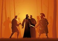 Beso de Judas ilustración del vector