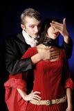 Beso de la muerte Foto de archivo libre de regalías