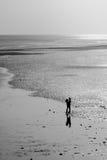 Beso de la playa Imagenes de archivo