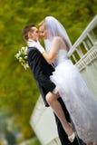 Beso muy íntimo Imagen de archivo libre de regalías