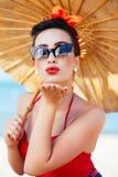 Beso Pin-para arriba Fotografía de archivo libre de regalías