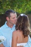 Beso Wedding Imágenes de archivo libres de regalías