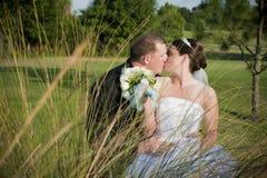 Beso Wedding Fotografía de archivo