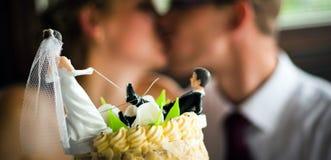 Beso Wedding Imagen de archivo
