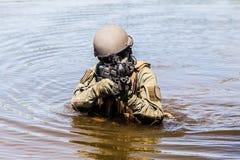 Besondere Kräfte im Wasser Lizenzfreie Stockfotos
