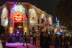 Besonderer Anlass - West-Hollywood Halloween Carnaval Lizenzfreies Stockbild