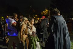 Besonderer Anlass - West-Hollywood Halloween Carnaval Stockfotos