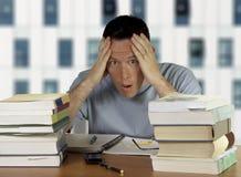 Besorgter Kursteilnehmer Lizenzfreie Stockfotos