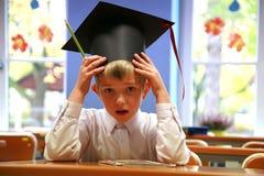 Besorgter Schüler Lizenzfreie Stockbilder