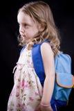 Besorgtes Mädchen Lizenzfreies Stockbild