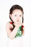 Besos que soplan Foto de archivo libre de regalías