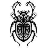 Besouro do inseto ilustração stock