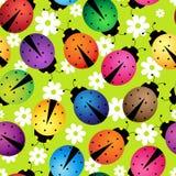 Besouros abstratos ilustração royalty free