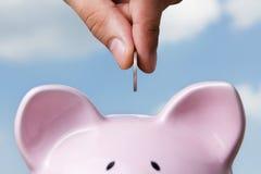 Besparing Stock Afbeelding