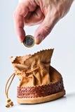 Het geld van Saivng Royalty-vrije Stock Foto