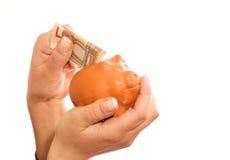 Besparing-doos 1 Stock Fotografie