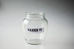 Besparing voor belastingen Royalty-vrije Stock Afbeeldingen