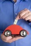 Besparing voor een Auto Royalty-vrije Stock Afbeeldingen