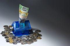 Besparing voor een huis Royalty-vrije Stock Afbeelding