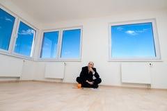 Besparing voor een Nieuw Huis Stock Foto