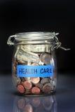 Besparing voor gezondheidszorg Stock Foto's