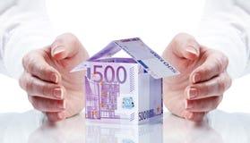 Besparing voor Huis Stock Foto's