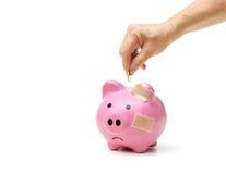 Besparing voor pensionering stock foto