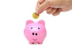 Besparing voor pensioneringsconcept Stock Foto
