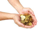 Besparing voor pensioneringsconcept stock afbeelding
