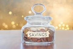 Besparing voor toekomst Stock Foto's