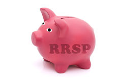 Besparing voor uw pensionering Stock Foto