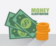 Besparingar royaltyfri illustrationer