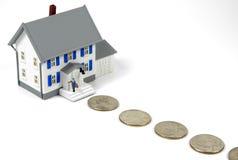 Besparingen 3 van het huis Stock Foto's