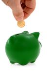 Besparingen en geld Royalty-vrije Stock Afbeeldingen