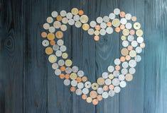 Besparingen för att gifta sig, abstrakt begrepp av förälskelse Royaltyfria Foton
