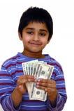Besparingen in geld Stock Foto