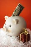 Besparingen I van Kerstmis Stock Foto's