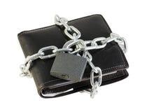 Besparingen onder slot en sleutel Stock Foto