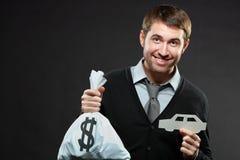 Besparingen voor auto Royalty-vrije Stock Foto's