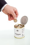 Besparingenconcept op lange termijn Stock Foto